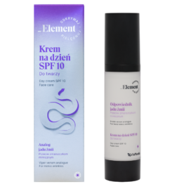 Element snake venom face day cream antiwrinkle SPF10