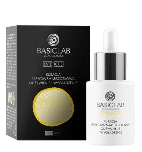 face serum antiwrinkle Nutrition and smooth with vitamin C tetraizopalmitate 5%