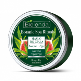 Bielenda natural body butter hemp + fig moisturizing