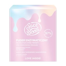 Faceboom cleansing face powder pink