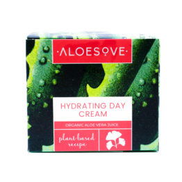 Moisturizing night day cream with aloe, nourishing, hydrating