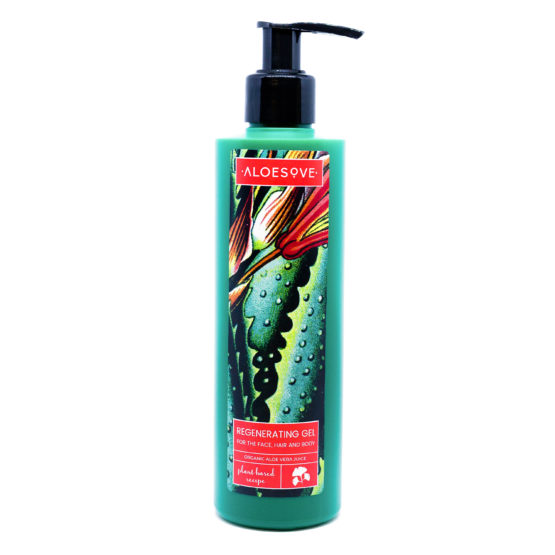 Regenerating Gel for the Face, Hair and Body aloe