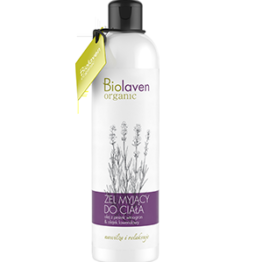 Biolaven shower gel lavender organic