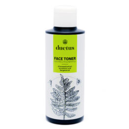 Duetus regulating face toner lactic acid for mixed acne oily skin