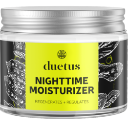 Duetus regulating face night cream cannabis oil for mixed acne oily skin