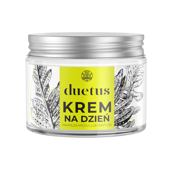 Duetus regulating face day cream cannabis oil for mixed acne oily skin