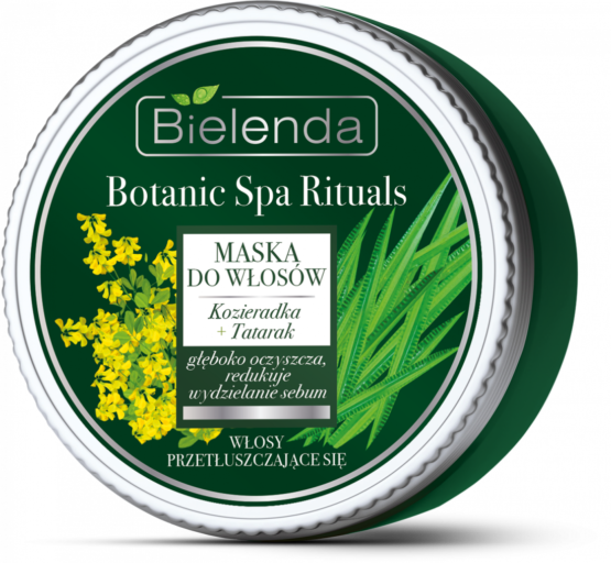 bielenda natural hair mask for greasy hair