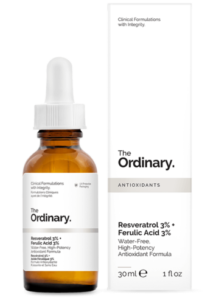 The Ordinary Resveratrol 3 Ferulic Acid 3 antioxidant serum Vanilee Online Shop Cyprus