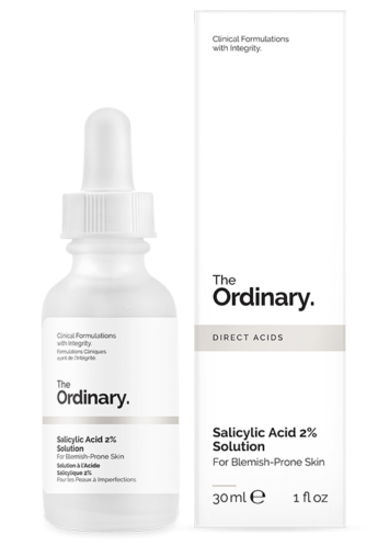 The Ordinary Salicylic Acid 2 antioxidant serum Vanilee Online Shop Cyprus