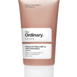 The Ordinary Mineral UV Filters SPF 15 with Antioxidants Cyprus Vanilee Online Cosmetics Shop